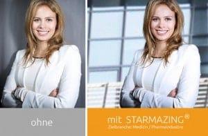STARMAZING® Professionelle Bildretusche für Ihr Bewerbungsbild