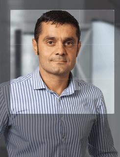 XING Profilfoto Bildausschnitt wirkungsstark quadratisch zugeschnitten: So ist der goldene Schnitt optimal gewählt
