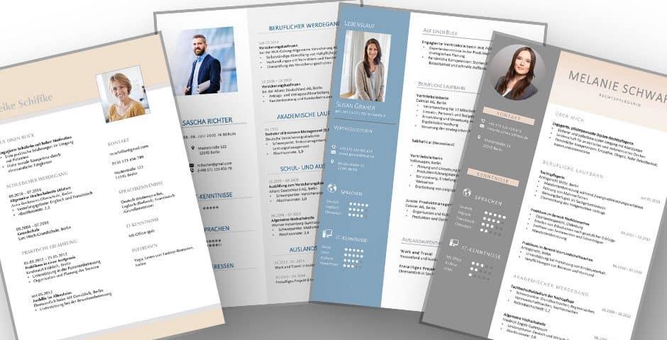 Die 5 wichtigsten Lebenslauf Design Tipps zum Aufwerten des Lebenslaufes für die Bewerbung. Beispiele mit Checkliste zeigen, wie ein modern gewähltes Lebenslauf Design den CV zu einem echten Hingucker werden lässt.