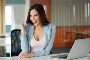 Büro Job finden im Internet mit nur einem Klick
