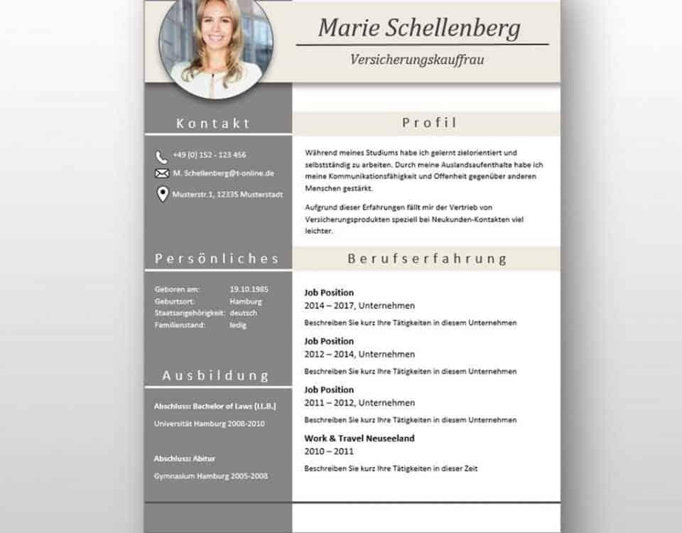 """Bewerbungsanschreiben + CV Lebenslauf Download: Die Bewerbungsvorlage """"Full Attention"""" überzeugt von Beginn an. Das moderne Design über 4 Seiten hinweg verleiht Ihnen einen eindrucksvollen ersten Eindruck, wobei Ihre Erfahrungen im Mittelpunkt stehen. Die Bewerbungsvorlage ist gut geeignet für Berufserfahrene, da der Lebenslauf mit einer zweiten Folgeseite zusätzlichen Platz für vorherige berufliche Stationen bietet. Lebenslauf, CV, Bewerbungsvorlage für die moderne Bewerbung als Download."""