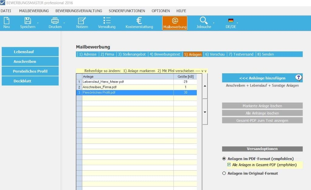Bewerbungsmaster Professional 2019 Vollversion Als Download