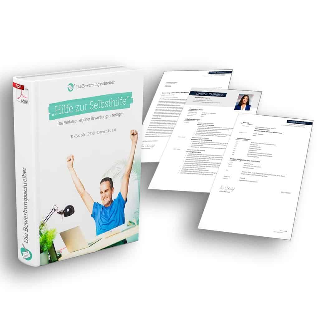 """Komplett-Set-Download: E-Book mit Bewerbungsvorlage: Der perfekte Grundstein für eine gelungene Bewerbung: Das E-Book zum Verfassen eigener Bewerbungsunterlagen zusammen mit der Word Bewerbungsvorlage """"Problemlöser"""" für Anschreiben, CV Lebenslauf und Lebenslauf Folgeseite."""