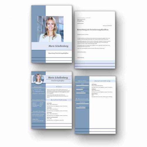 """Komplett-Set: CV Lebenslauf Download: Die Bewerbungsvorlage """"Full Attention Vol. 2"""" überzeugt von Beginn an. Das moderne Design über 4 Seiten hinweg verleiht Ihnen einen eindrucksvollen ersten Eindruck, wobei Ihre Erfahrungen im Mittelpunkt stehen. Die Bewerbungsvorlage ist gut geeignet für Berufserfahrene, da der Lebenslauf mit einer zweiten Folgeseite zusätzlichen Platz für vorherige berufliche Stationen bietet. #CV #Lebenslauf #Bewerbung #Bewerbungsvorlage"""