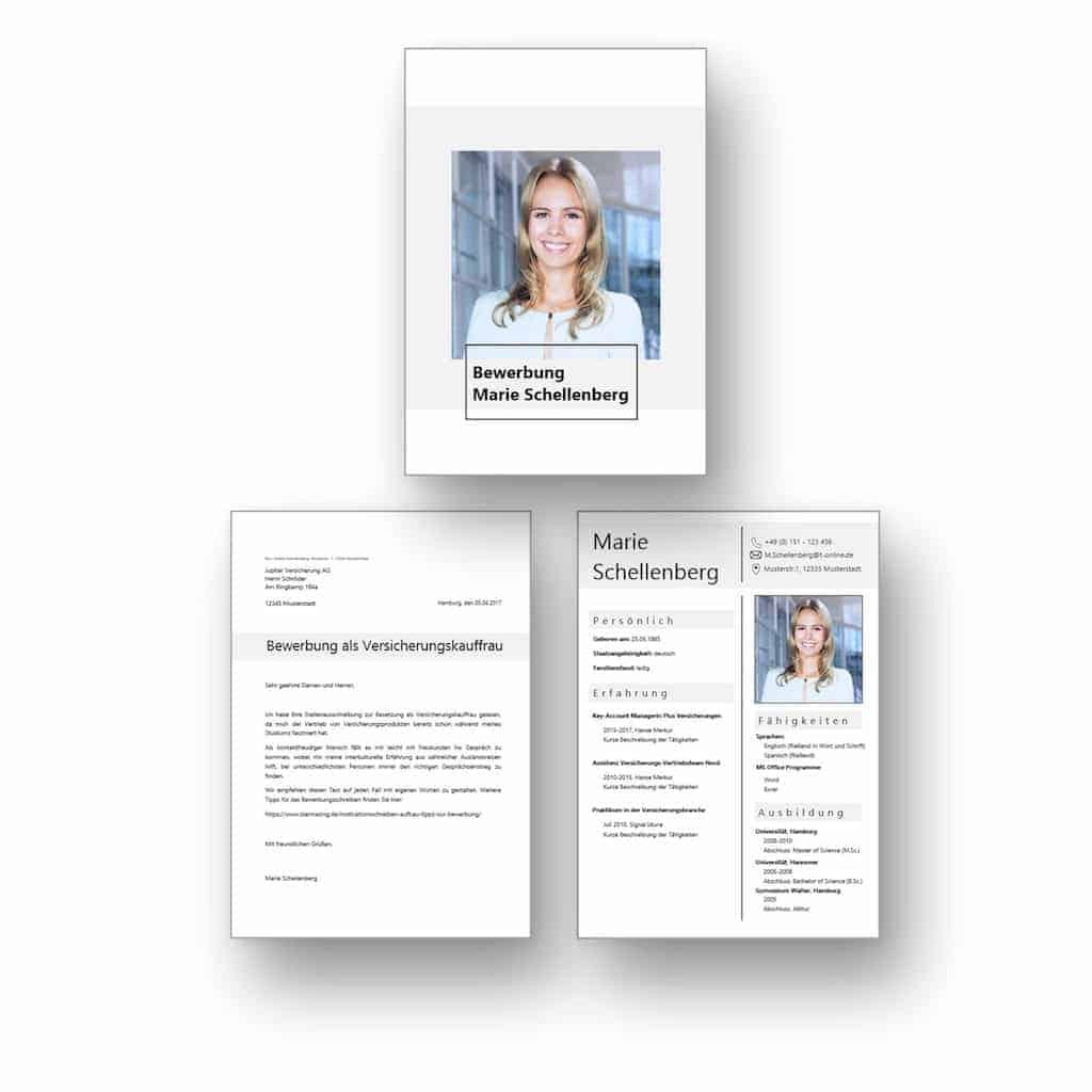 """Ideal für Berufseinsteiger: Download Bewerbungsvorlage mit Bewerbungsdeckblatt + CV Lebenslauf als Download: Die Lebenslaufvorlage """"Successful Career Starter"""" bietet Ihnen ein modernes und elegantes Design. Ihre Erfahrungen und Expertise stehen eindeutig im Vordergrund. Die Word Vorlage eignet sich vom Design her sehr gut für Karriereeinsteiger. Lebenslauf, CV, Bewerbungsvorlage für die moderne Bewerbung als Download."""