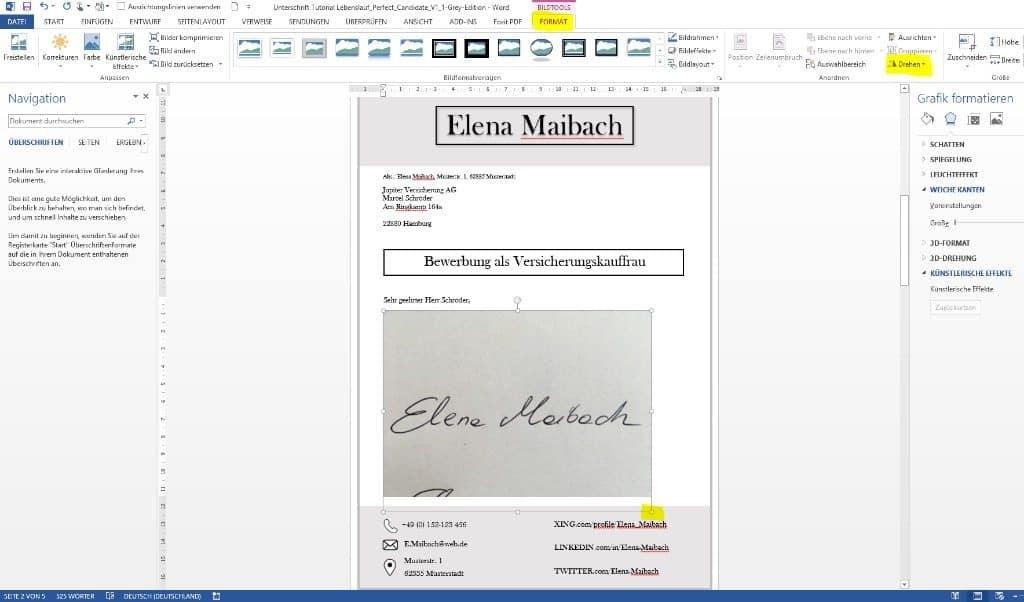 Unterschrift in Word verkleinern. So gehts: Sie brauchen nur ein Smartphone Handy und einen PC mit Microsoft Word. STARMAZING zeigt Schritt für Schritt, wie Sie Ihre Unterschrift perfekt in das Word Dokument einbinden und freistellen für ein professionelles Ergebnis. Ohne Scanner und ohne Grafikprogramm.