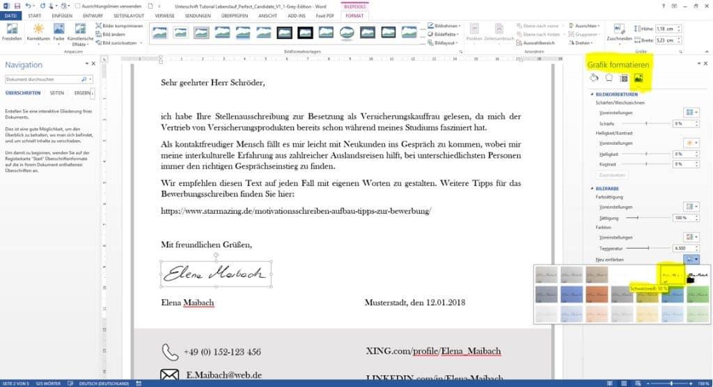 Unterschrift in Word vom Hintergrund freistellen. So gehts: Sie brauchen nur ein Smartphone Handy und einen PC mit Microsoft Word. STARMAZING zeigt Schritt für Schritt, wie Sie Ihre Unterschrift perfekt in das Word Dokument einbinden und freistellen für ein professionelles Ergebnis. Ohne Scanner und ohne Grafikprogramm.