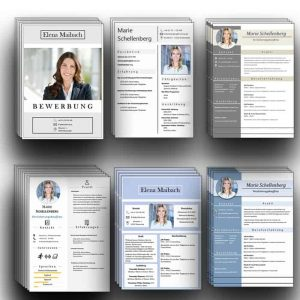 6 Design CV Lebenslaufvorlagen Download. 6x Word + 3x Pages. Die beliebtesten STARMAZING Bewerbungsvorlagen inkl. Lebenslauf als Sofort-Download. 28 Seiten für Word und 13 Seiten für Pages. Lebenslauf, CV, Bewerbungsvorlage für die moderne Bewerbung als Download.