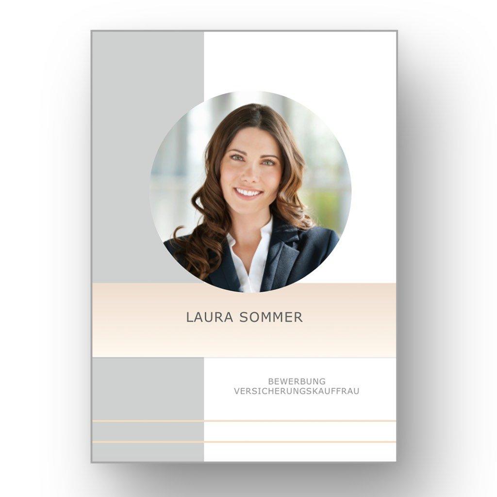 Bewerbungsvorlage CV Golden Candidate in deutsch: Download