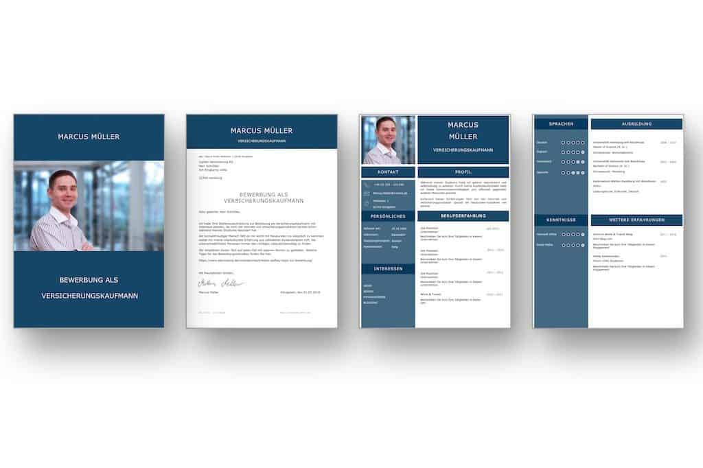 lebenslaufvorlage cv saphire candidate in deutsch  download