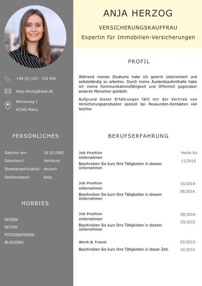 CV Lebenslaufvorlage für viel Berufserfahrung. Highlights: + 6 Seiten + unterstützt Europäischen Referenzrahmen für Sprachen (GER) + STARMAZING®-Easy-Edit-Architektur (spart viel Zeit beim Bearbeiten mit Word) + Eindrucksvolle Farben optimiert für Export als PDF und für Ausdrucke + Als deutsche Bewerbungsvorlage, EU und Schweizer Lebenslauf einsetzbar. Download für Windows Word und MacOS Pages.