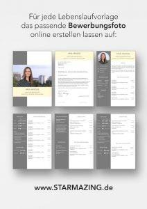 Perfekte Bewerbungsfotos für CV Lebenslaufvorlage auf www.STARMAZING.de erhalten. Dazu WORD Vorlage mit 6 Seiten + unterstützt Europäischen Referenzrahmen für Sprachen (GER) + STARMAZING®-Easy-Edit-Architektur (spart viel Zeit beim Bearbeiten mit Word) + Eindrucksvolle Farben optimiert für Export als PDF und für Ausdrucke + Als deutsche Bewerbungsvorlage, EU und Schweizer Lebenslauf einsetzbar. Download für Windows Word und MacOS Pages.