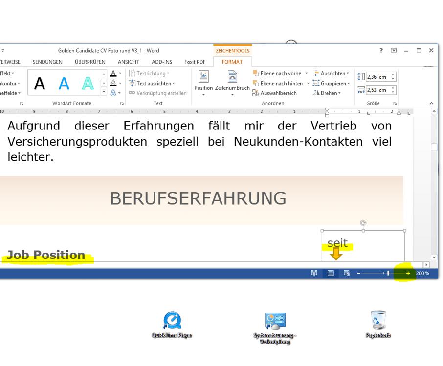 So lassen sich in Word komplexe Objekte horizontale bündig ausrichten. Außerdem kann auf diese Weise die Ausrichtung kontrolliert werden.
