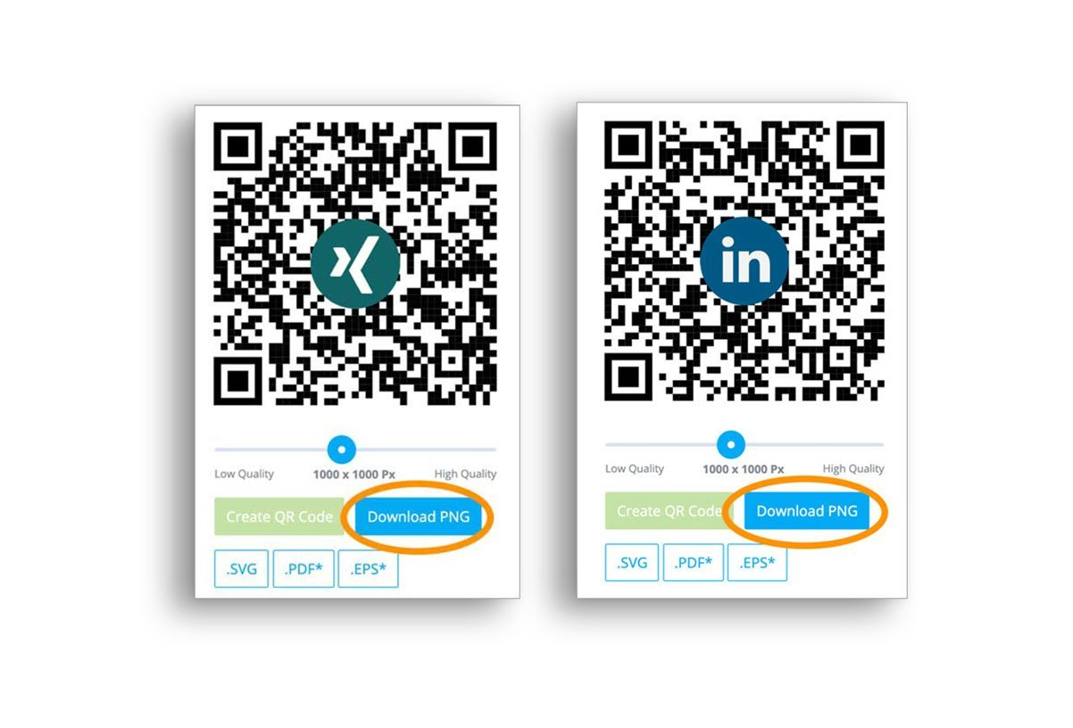 QR Code in Bewerbung einbauen Image