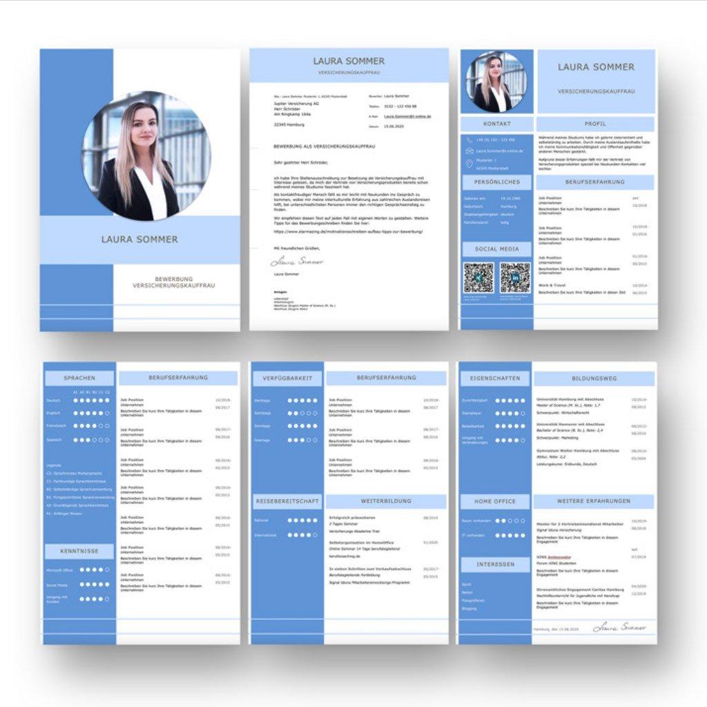 Die perfekte Bewerbung von heute: Hier wurde alles richtig gemacht: Die Farbwahl modern getroffen: Strahlt Vitalität aus. Die runden Bewerbungsfotos sind ein echter Hingucker. Mit Lebenslauf Kurzprofil und grafischer Darstellung der Bewerber Charaktereigenschaften. Personaler können über den QR Code direkt das XING und Linked in Profil aufrufen. Diese Bewerbungsvorlage jetzt downloaden und mit eigenen Angaben ausfüllen (PC, MAC):