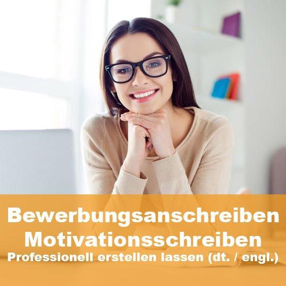 Ihr persönlicher Bewerbungsautor verfasst für Sie ein absolut individuelles und professionelles Bewerbungsschreiben. Unsere Erfahrung - Ihr Vorteil. Mehr erfahren im STARMAZING Bewerber-Shop.