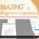 Dieses Video zeigt, wie man PDF Arbeitszeugnisse in seine mit Microsoft Word geschriebene Bewerbung einbauen kann. Anschließend wird alles in einem einzigen PDF gespeichert, ohne Zusatzprogramme zu nutzen. Dafür benötigen Sie lediglich Windows und Word.