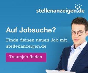 Wer einen Job sucht findet mit Stellenanzeigen.de sofort alle freien Jobs in der gewünschten Stadt. Die Jobsuche funktioniert kostenlos und ohne persönliche Daten einzugeben. Mit nur einem Klick zum neuen Job - einfacher geht es nicht.
